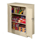 Sandusky Classic Series Counter Height Storage Cabinet CA21362442-07 - 36x24x42, Putty