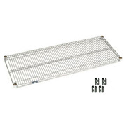 Chrome Wire Shelf 30x24 With Clips