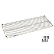 Chrome Wire Shelf 54x24 With Clips