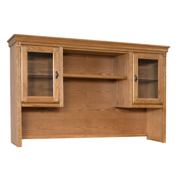 Martin Furniture Storage Hutch - Wheat - Huntington Oxford Series