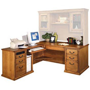Huntington Oxford WheatLeft L-Shaped Desk - Wheat