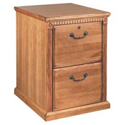 Martin Furniture File Cabinet,2 Drawer - Wheat - Huntington Oxford Series
