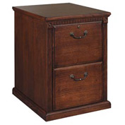 Huntington Club 2 Drawer File Cabinet - Vibrant Cherry