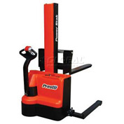 "PrestoLifts™ PowerStak™ Fully Powered Stacker PPS2200-62NAS 2200 Lb. 62"" Lift"