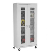 Sandusky Expanded Metal Door Mobile Storage Cabinet TA4M361872 - 36x18x78, Gray