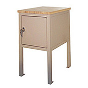 18 X 24 X 36 Cabinet Shop Stand - Plastic- Beige