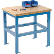 18 X 24 X 24 Standard Shop Stand - Maple - Blue