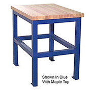 24 X 36 X 24 Standard Shop Stand - Maple- Blue