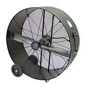 "TPI 48"" Portable Blower Fan Direct Drive PB48-D-OP 3/4 HP 17300 CFM"