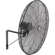 TPI CACU30W,30 Inch Wall Mount Fan Non Oscillating 1/4 HP 4200 CFM 1 PH