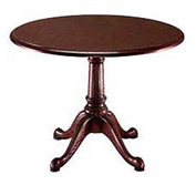 "Governors 42"" Round Conference Table"