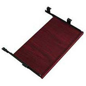 Offices To Go™ Keyboard Tray in Mahogany - Executive Modular Furniture