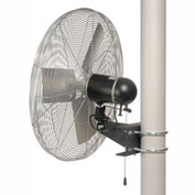 TPI 653439,24 Inch Washdown Rated Pole Mount Fan 1/3 HP 4300 CFM