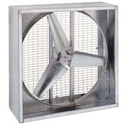 "36"" Belt Drive Agricultural Box Fan 230V 1/2 HP Motor"