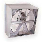 "48"" Belt Drive Slant Wall Fan 230V 1 HP, 6 Paddle Blade"