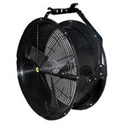 "J&D 36"" Black Poly Chiller Drum Fan With Bracket VPRF363 1/2 HP 14300 CFM"