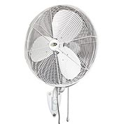 "J&D 30"" Outdoor Oscillating Wall Fan With Bracket POW30OSC 1/4HP 5010 CFM"