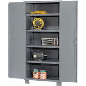 "Global™ Heavy Duty Storage Cabinet DS148 - Welded 14 ga. 48""W x 18""D x 78""H"