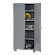 "Global™ Heavy Duty Storage Cabinet DS236 - Welded 14 ga. 36""W x 24""D x 78""H"