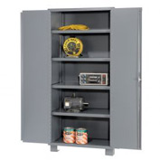 "Global™ Heavy Duty Storage Cabinet DS248 - Welded 14 ga. 48""W x 24""D x 78""H"
