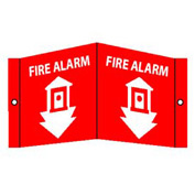 Fire Alarm Sign - Acrylic 5-3/4 x 8-3/4