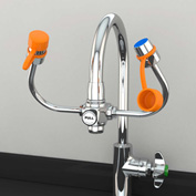 Guardian Equipment Faucet Mounted Eye and Face Wash Unit, G1101