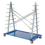 Horizontal Bar Storage Cart