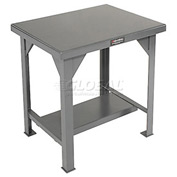 30 X 24 Steel Top Fixed Leg Work Table