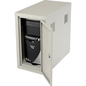 Security Computer CPU Cabinet Side Car-Gray