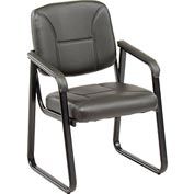 Anti-Microbial Reception Chair - Vinyl - Gray