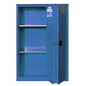 "Global&#8482 Acid Corrosive Cabinet - Manual Close Bi-Fold Single Door 60 Gallon - 34""W x 34""D x 65"""