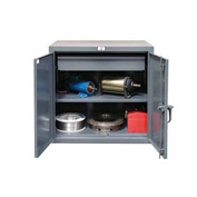 Strong Hold® Heavy Duty Counter Height Cabinet 43-241-1DB - With Drawer 48x24x36
