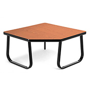 "OFM Reception Corner Table - 30"" - Cherry"