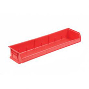 "Akro-Mils 33"" Wide AkroBin® 30320 - 33 x 8-5/8 x 5 Red - Pkg Qty 4"