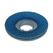 "Powr-Flite 15"" "" Lite Grit Scrub Brush With Clutch Plate For Hard Surfaces - PFLG15"