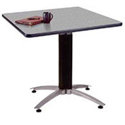 "36"" Square Multipurpose Table - Gray Nebula"