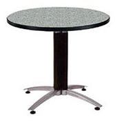 "OFM 36"" Lunchroom Table - Round - Gray Nebula"