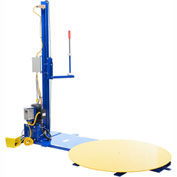 Vestil Stretch Wrap Machine With Power Mast, SWA-48-PMO, 4000 Lb Capacity