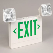TCPI 20785 LED Emergency Exit Sign - Green