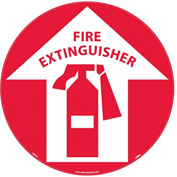 Safety Floor Sign - Fire Extinguisher