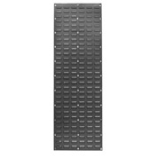 Louvered Wall Panel Without Bins 18x61 - Pkg Qty 2