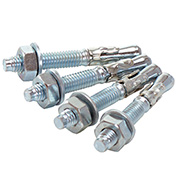 """Concrete Installation Kit , 3/8"""" x 3"""" Bolts, 4-Pack"""