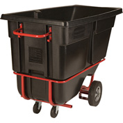 Rubbermaid 1315-42 Tilt Truck with Fork Lift Pockets 1 Cu Yd 1250 Lb Cap