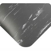 "Antimicrobial Tile Top Antifatigue Mat 1/2"" Thick, 24x36 Charcoal"