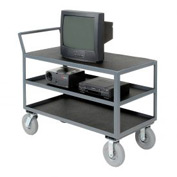 Three Shelf Audio Visual & Instrument Truck 36 x 24 1200 Lb. Capacity