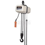 JET® Electric Chain Hoist 1 Ton, 10' Lift, 1 Phase 115/230V
