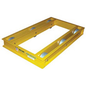 "Vestil Steel Pallet & Machine Dolly ODMD-3660-10 60""L x 36""W 10,000 Lb. Cap."