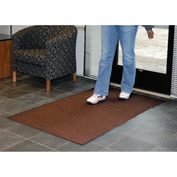 Absorbent Ribbed Mat 48 Inch Cut Size Walnut