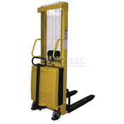 Vestil Battery Operated Lift Stacker SL-63-FF Fixed Forks Over Fixed Legs