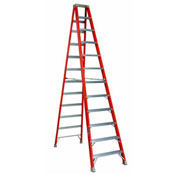 Louisville 12' Fiberglass Step Ladder - 300 lb Cap. - FS151-2
